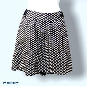 Black & white mid-length Banana Republic skirt s10